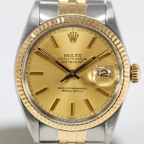 Rolex 16013 Gold/Steel 1982 Datejust 36mm pre-owned United States of America, Florida, Miami Beach