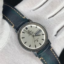 Omega Constellation Day-Date Staal 35mm Zilver Geen cijfers Nederland, rotterdam