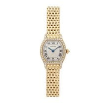 Cartier Tortue Yellow gold 20mm Silver Roman numerals United States of America, Pennsylvania, Bala Cynwyd