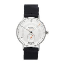 NOMOS pre-owned Automatic 41mm Silver 10 ATM