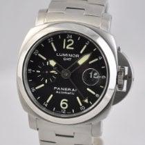 Panerai Luminor GMT Automatic Steel 44mm Black Arabic numerals United States of America, Ohio, Mason