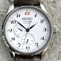 Seiko Presage Steel 40.5mm White Arabic numerals Australia, Keysborough