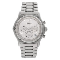 Ebel Le Modulor Steel 40mm Silver No numerals United States of America, Florida, Surfside