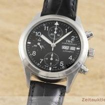 IWC Pilot Chronograph Otel 39mm Negru