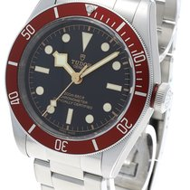 Tudor new Automatic Central seconds Luminous hands Rotating Bezel 41mm Steel Sapphire crystal