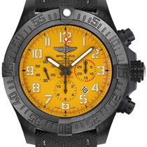 Breitling Plastic Automatic Yellow Arabic numerals 50mm new Avenger Hurricane