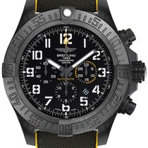 Breitling Plastic Automatic Black Arabic numerals 50mm new Avenger Hurricane
