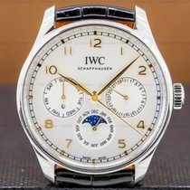 IWC Portuguese Perpetual Calendar Steel 42.4mm Silver Arabic numerals United States of America, Massachusetts, Boston