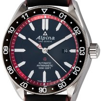 Alpina Alpiner Steel 45mm Black