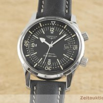 Longines Legend Diver Zeljezo 42mm Crn