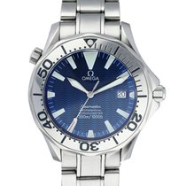 Omega 2255.80.00 Steel 2006 Seamaster Diver 300 M 41mm pre-owned United States of America, New York, New York