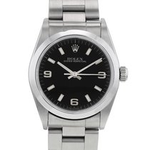 Rolex Oyster Perpetual 31 Acero 31mm Negro Sin cifras