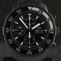 IWC Aquatimer Chronograph Сталь 44mm Чёрный Без цифр