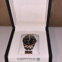 Certina DS First Acier 41mm Noir Sans chiffres