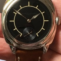 Laurent Ferrier occasion Remontage automatique 41mm Noir Verre saphir