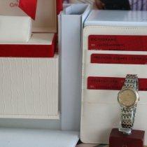 Omega De Ville Prestige Acero y oro 24.4mm Champán