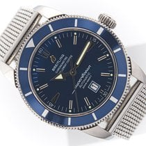 Breitling Superocean Héritage 46 Steel 46mm Blue No numerals