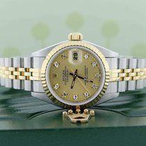 Rolex Lady-Datejust Acero 26mm Champán