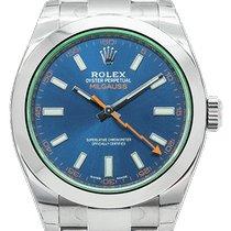 Rolex Milgauss Aço 40mm Azul