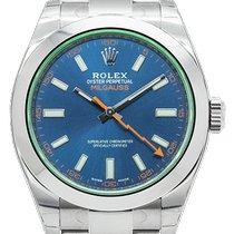 Rolex Milgauss Steel 40mm Blue