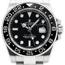 Rolex Steel 40mm Automatic 116710LN pre-owned