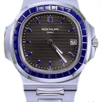 Patek Philippe Nautilus Platinum 40.5mm Black No numerals United Kingdom, London