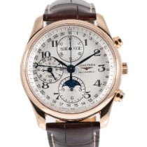 Longines Yellow gold Automatic Gold 40mm pre-owned Master Collection