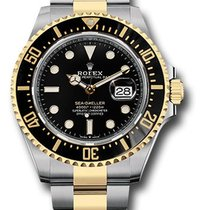 Rolex Sea-Dweller Gold/Steel 43mm Black United States of America, New York, NY