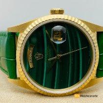 Rolex Day-Date 36 Oro amarillo 36mm Verde Sin cifras España, Torrelavega