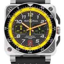 Bell & Ross BR 03-94 Chronographe neu 2020 Automatik Uhr mit Original-Box und Original-Papieren BR0394-RS19/SRB