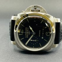 Panerai Luminor 1950 8 Days GMT Acero 44mm Negro