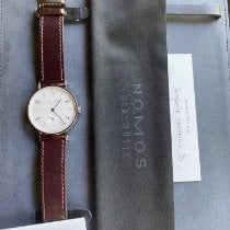 NOMOS Tangente Neomatik Steel 38.5mm Silver Arabic numerals United States of America, DC, washington