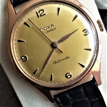 Doxa Rose gold Automatic Gold Arabic numerals 35mm new
