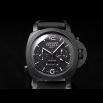 Panerai Luminor 1950 8 Days Chrono Monopulsante GMT PAM 00317 2017 gebraucht