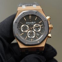 Audemars Piguet Royal Oak Chronograph Rose gold 41mm Black No numerals United States of America, Texas, Laredo