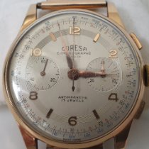 Chronographe Suisse Cie Or rose 36mm Remontage manuel 326 occasion