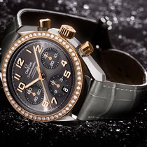 Omega 324.28.38.40.06.001 Gold/Steel 2015 Speedmaster Ladies Chronograph 38mm pre-owned