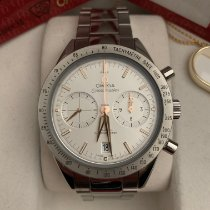 Omega Speedmaster '57 pre-owned 41.5mm Silver Chronograph Date Steel