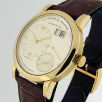 A. Lange & Söhne Lange 1 Yellow gold 39mm Silver Roman numerals United States of America, California, Los Angeles
