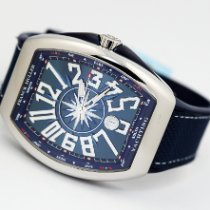 Franck Muller Vanguard Steel 44mm Blue