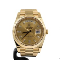 Rolex Or jaune Remontage automatique Or 40mm occasion Day-Date 40