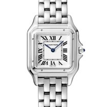 Cartier Panthère Steel 27mm Silver Roman numerals United States of America, Iowa, Des Moines