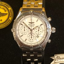 Breitling Shadow Flyback pre-owned 38mm Mother of pearl Chronograph Flyback Date Steel