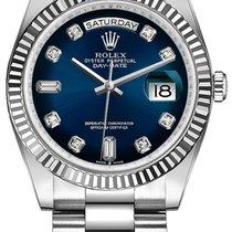 Rolex Day-Date 36 White gold 36mm Blue No numerals United States of America, Florida, miami
