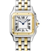 Cartier Panthère Gold/Steel 27mm Silver Roman numerals United States of America, Iowa, Des Moines