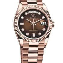 Rolex Day-Date 36 Rose gold 36mm Brown No numerals United States of America, Florida, miami