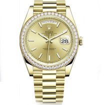Rolex Day-Date 40 Yellow gold 40mm Gold No numerals United States of America, Florida, miami