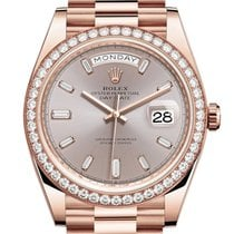 Rolex Day-Date 40 Rose gold 40mm Pink No numerals United States of America, Florida, miami