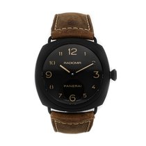 Panerai Ceramic Manual winding Black Arabic numerals 44mm pre-owned Special Editions