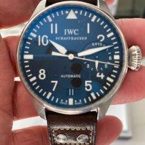 IWC Big Pilot Steel 46mm Black Arabic numerals Australia, Toorak